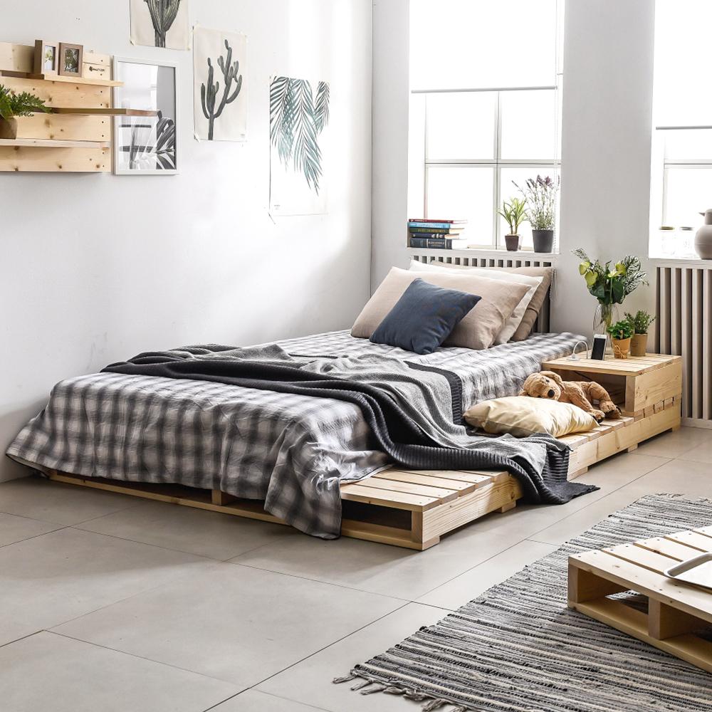 원목 침대 접이식파렛트(수퍼싱글) 1200x2000