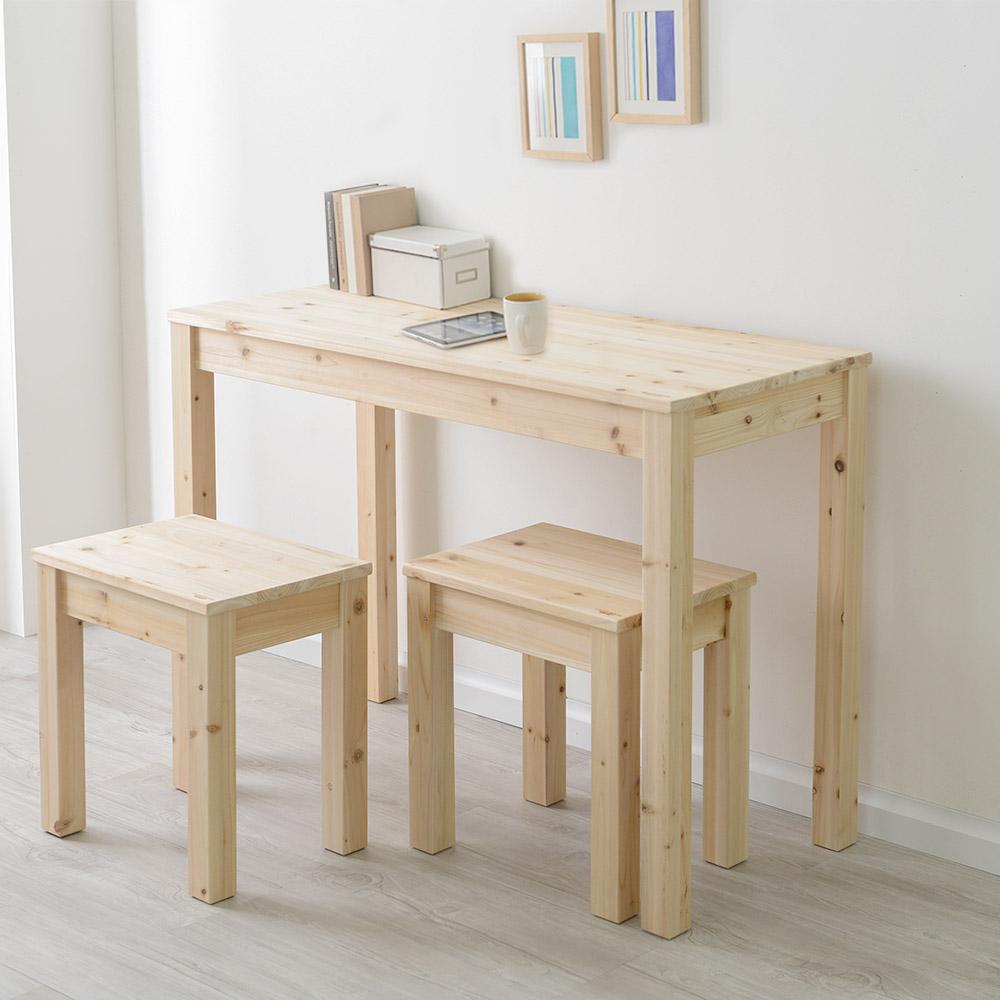 원목 슬림테이블 책상 1000x450 (삼나무,아카시아)