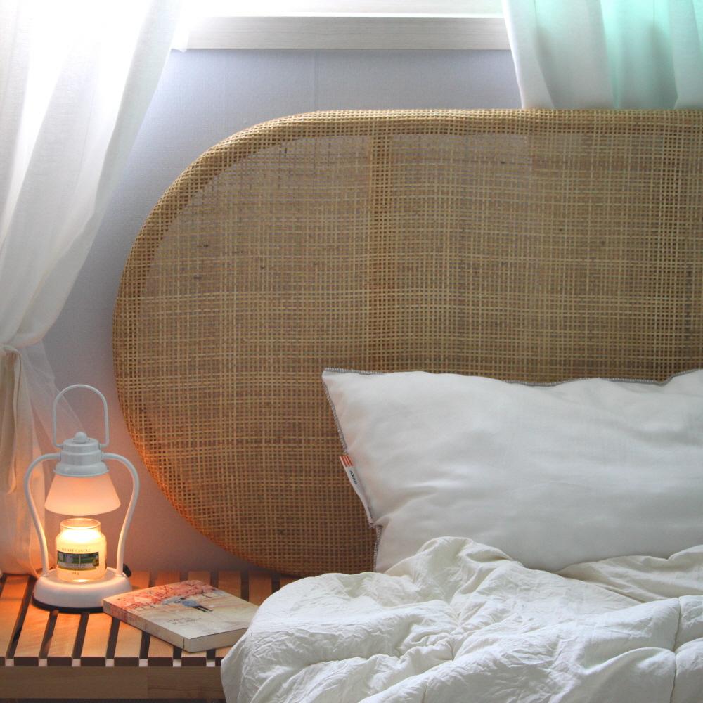비앙코가구 라탄 침대 헤드보드 ss Q K
