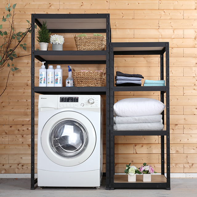 철제 조립식 세탁기 선반 800x400 높이1800 2단